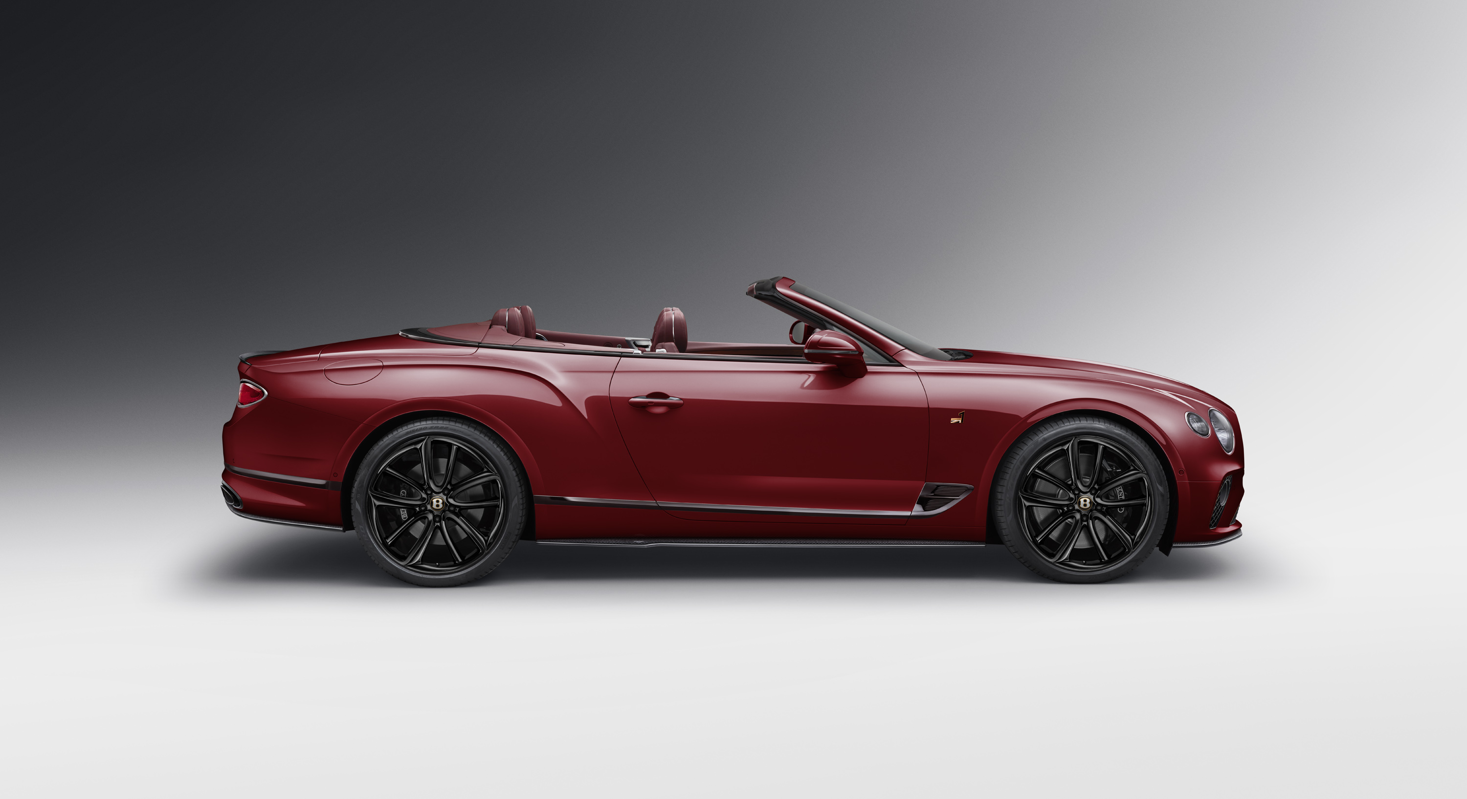 Bentley Number 1 Continental GT Convertible finished in Dragon Red II