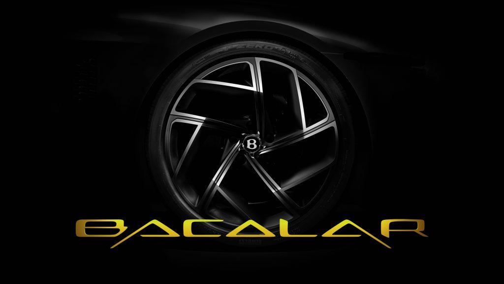 The Bentley Mulliner Bacalar is Coming