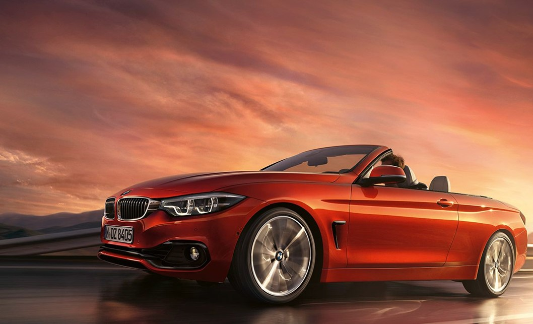 THE BMW 4 SERIES CONVERTIBLE