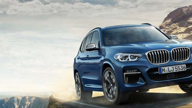 THE BMW X3 WITH TECH PACK