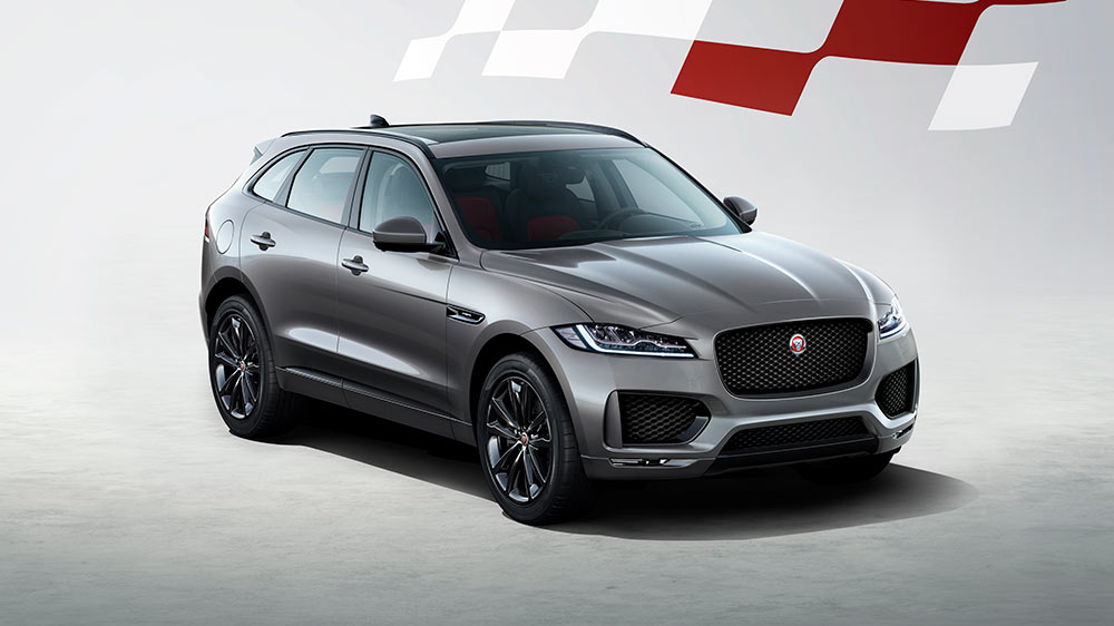 F-PACE chequered FLAG EDITION main