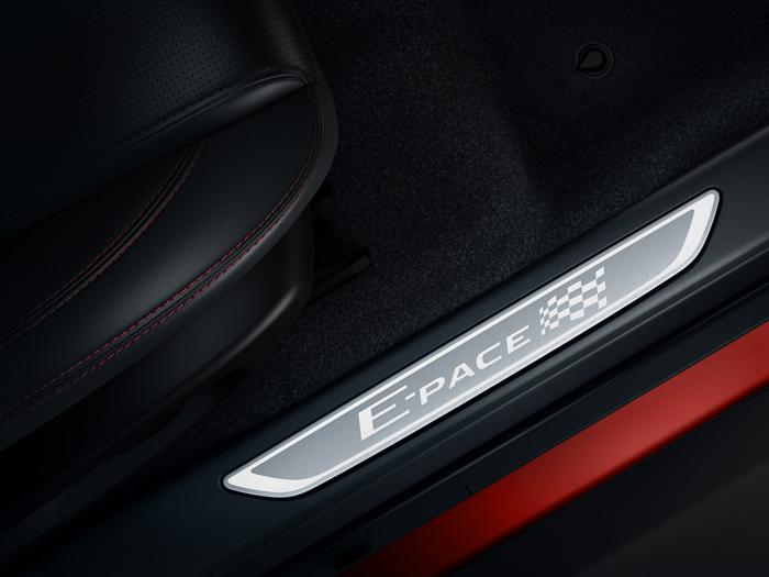 E-PACE Chequered Flag Edition Treadplates - Rybrook Jaguar