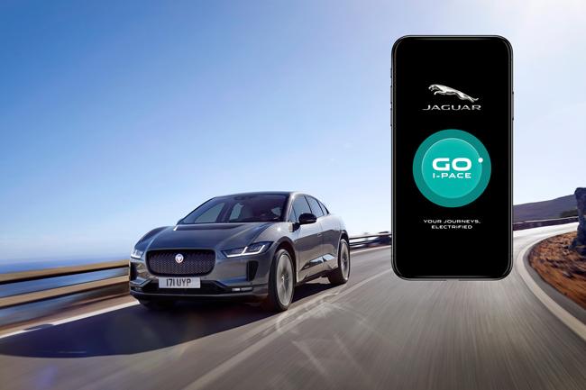 Jaguar I-PACE GO App | Rybrook Jaguar