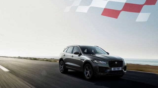 F-PACE Chequered Flag Offer