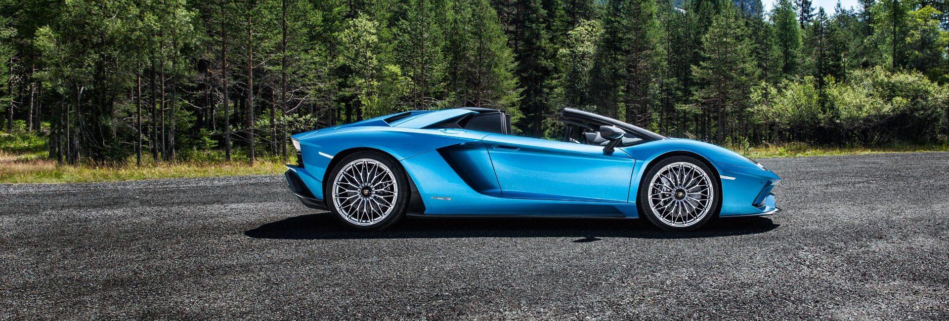 New Lamborghini Aventador S Roadster Bristol Rybrook