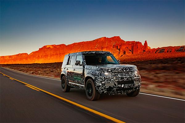 New Land Rover Defender 2020 - Rybrook