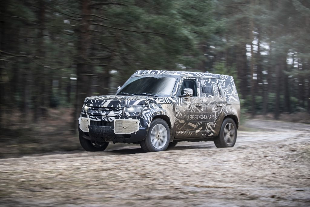 New Land Rover Defender Reaches Development Milestone