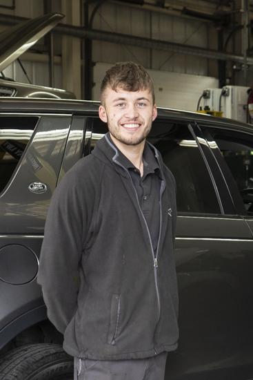 Will Thompson - Apprenticeship Graduation