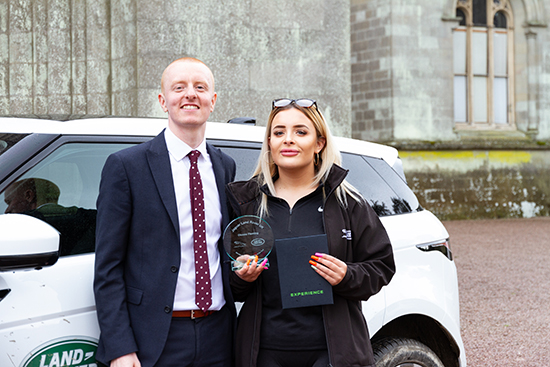 Dionne Fleming & Will Thompson - Rybrook Land Rover