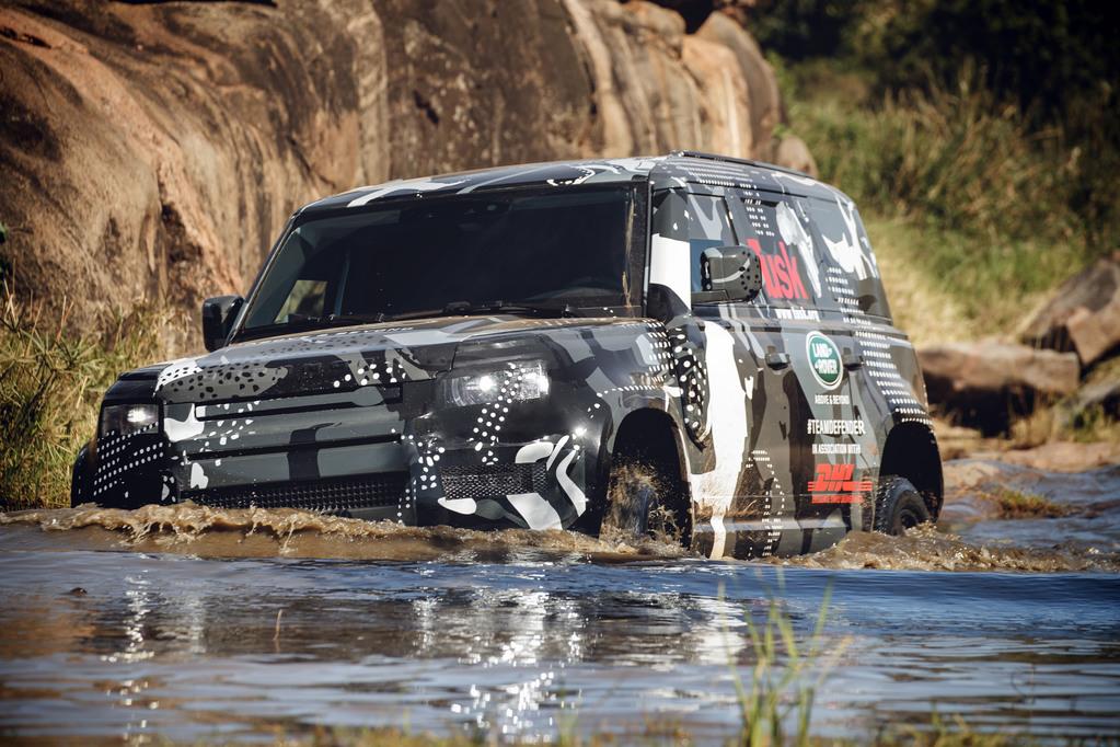 New Land Rover Defender 2020 - Wading - Rybrook Land Rover