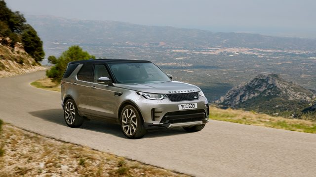 NEW LAND ROVER DISCOVERY AT CONWY, HUDDERSFIELD & STOKE