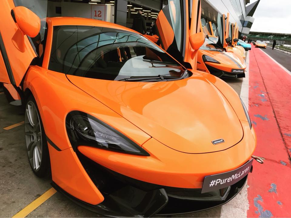 Pure McLaren Experience Package