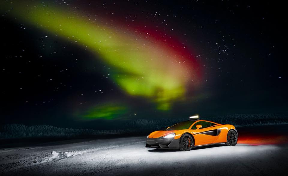 Pure McLaren Arctic Experience: 28 January - 15 February 2019