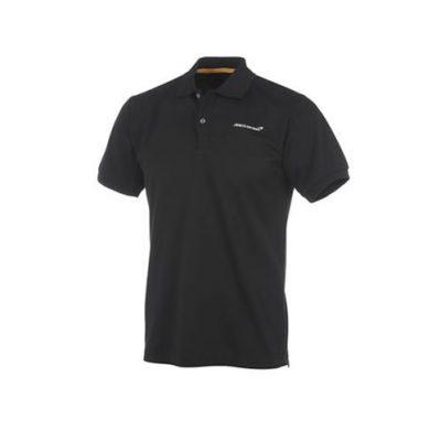 Men's McLaren Black Polo Shirt