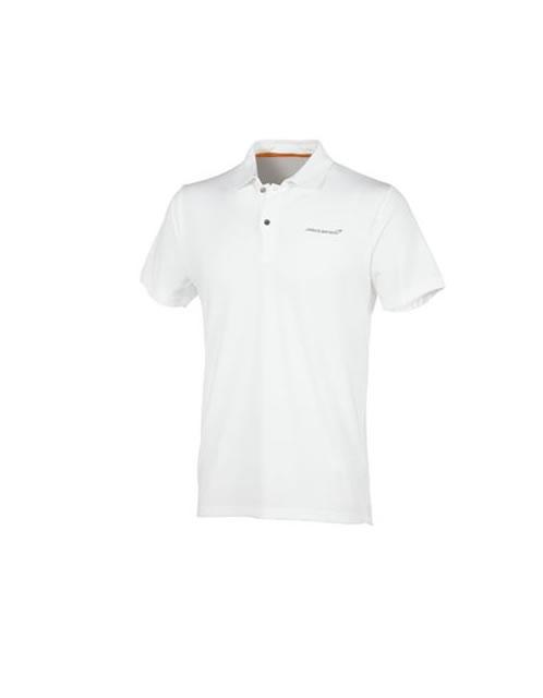 Men's McLaren White Polo Shirt