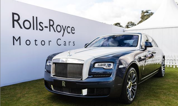 Limited edition Rolls-Royce Ghost Zenith at Salon Prive 2019