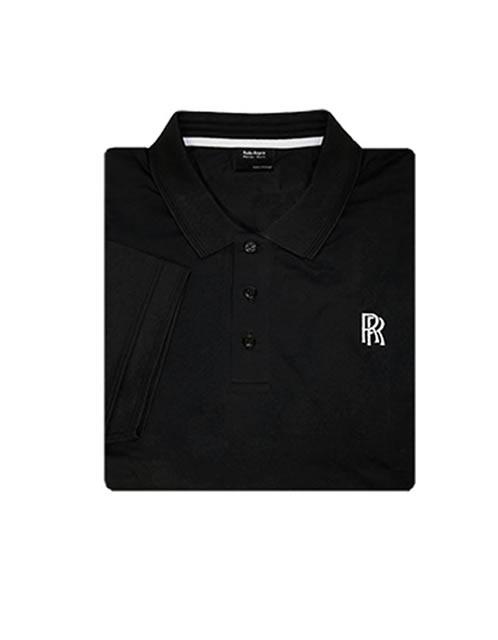 Rolls-Royce Men's Black Polo Shirt