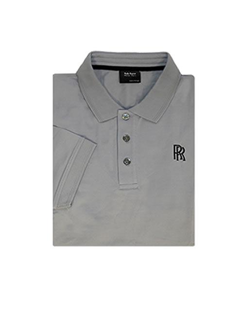 Rolls-Royce Men's Grey Polo Shirt