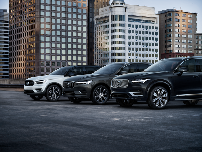 SUV success drives Volvo Cars to sixth straight sales record and beyond 700,000 cars