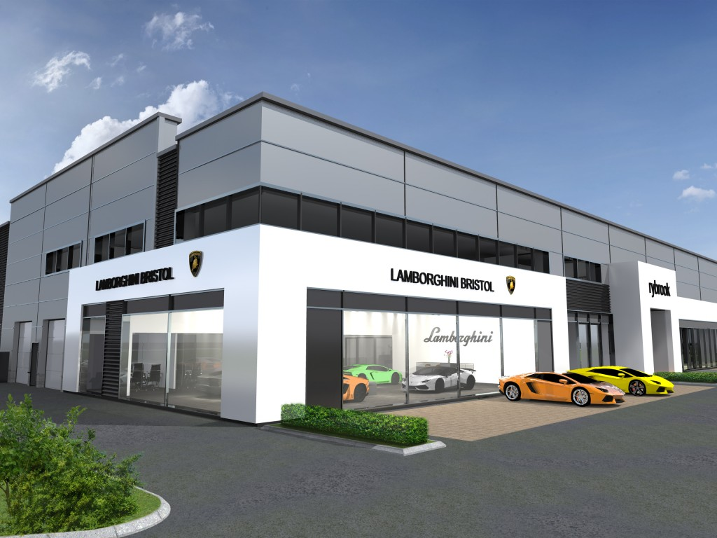 RYBROOK HOLDINGS LTD APPOINTED AS OFFICIAL LAMBORGHINI RETAILER IN BRISTOL